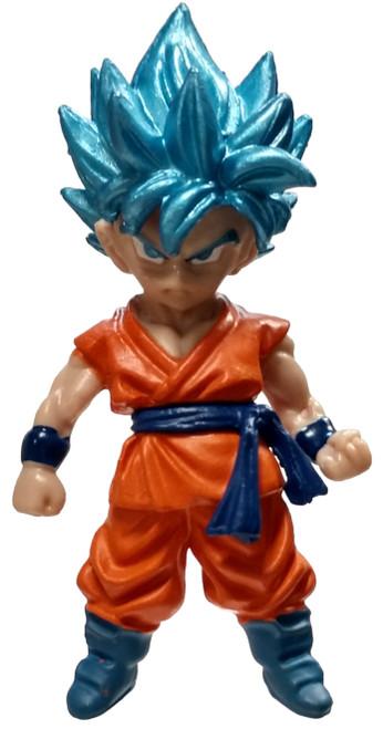 Dragon Ball Super SSGSS Goku 2-Inch Mini Figure [Loose]