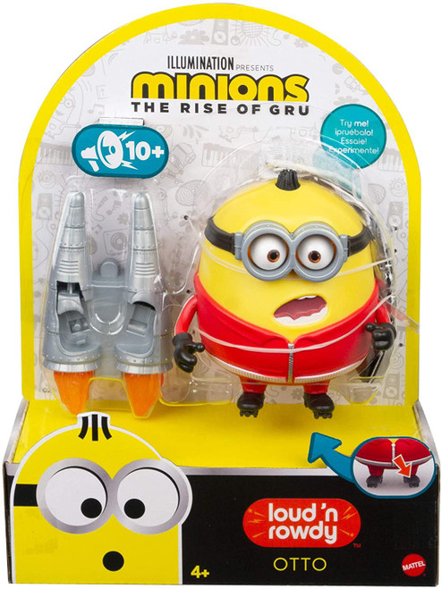 Minions Rise of Gru Loud 'n Rowdy Otto Action Figure