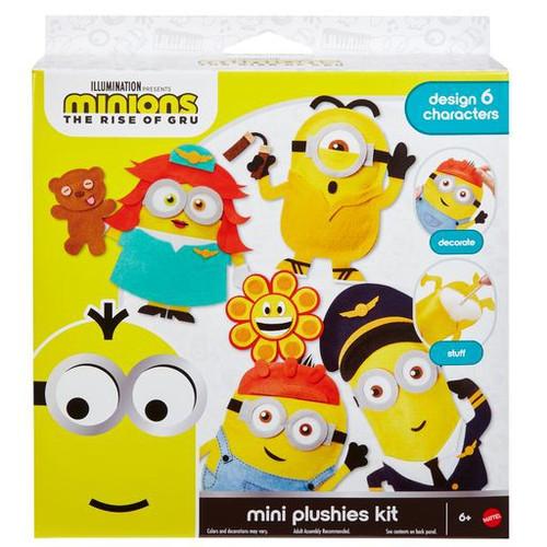 Minions Rise of Gru Mini Plushies Kit [Design 6 Characters]