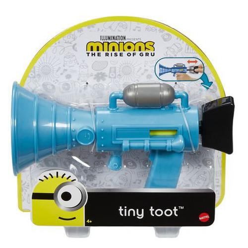 Minions Rise of Gru Tiny Toot Toy [Fart Blaster]