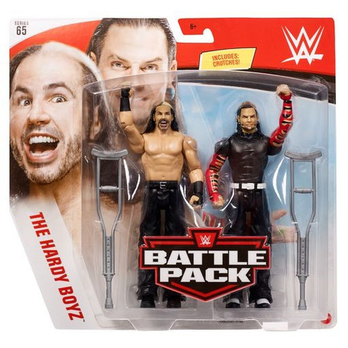 WWE Wrestling Battle Pack Series 65 Matt & Jeff Hardy Action Figure 2-Pack [Hardy Boyz] (Pre-Order ships May)
