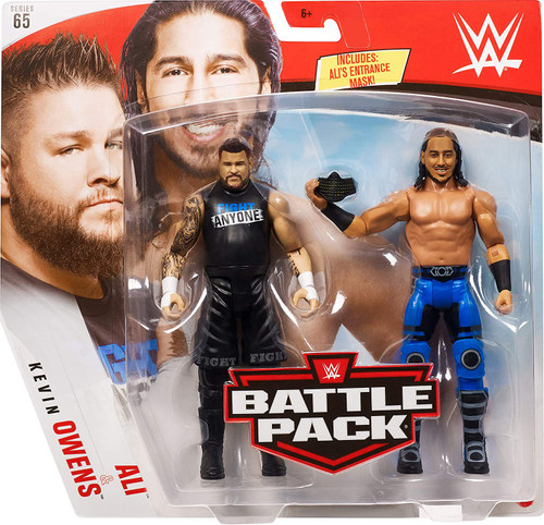 WWE Wrestling Battle Pack Series 65 Ali & Kevin Owens Action Figure 2-Pack