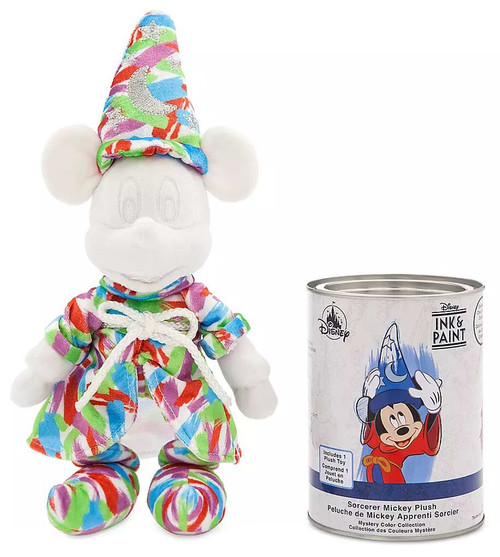 Disney Ink & Paint Series 1 Sorcerer Mickey Exclusive 12.5-Inch Plush Mystery Pack