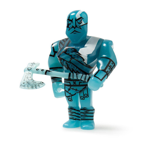 God of War Kratos 3-Inch 3/24 Mystery Minifigure [Blue Loose]