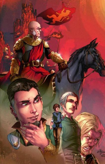 Dynamite Entertainment George R. R. Martin: A Clash of Kings #2 Comic Book [Mel Rubi Virgin Variant Cover]
