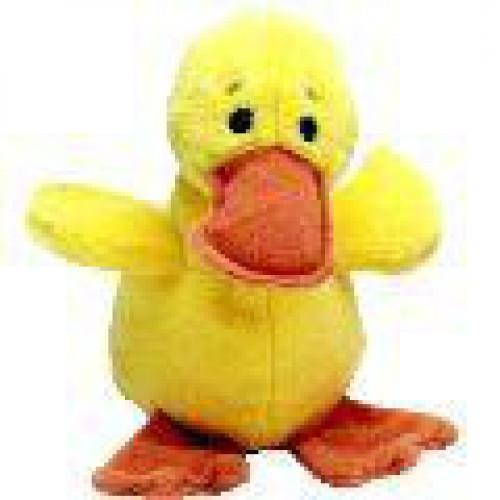 Beanie Babies Quackers the Duck Beanie Baby Plush
