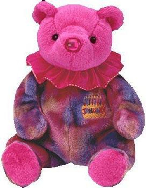 Beanie Babies Birthday Bears January the Birthday Bear Beanie Baby Plush