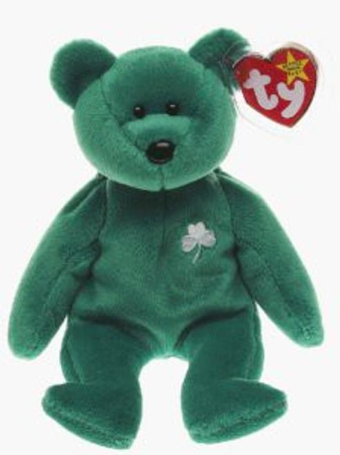Beanie Babies Erin the Irish St Patrick's Teddy Bear Beanie Baby Plush