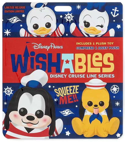 Wishables Disney Cruise Line Exclusive 5-Inch Micro Plush Mystery Pack