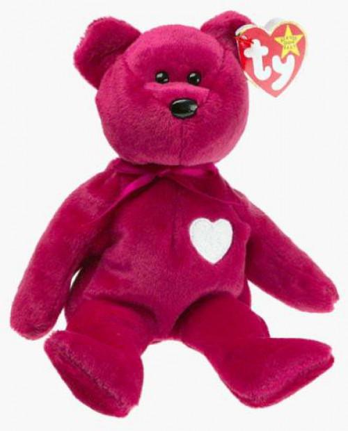 Beanie Babies Valentina the Bear Beanie Baby Plush