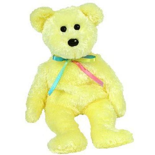 Beanie Babies Sherbert the Bear Beanie Baby Plush [Yellow]