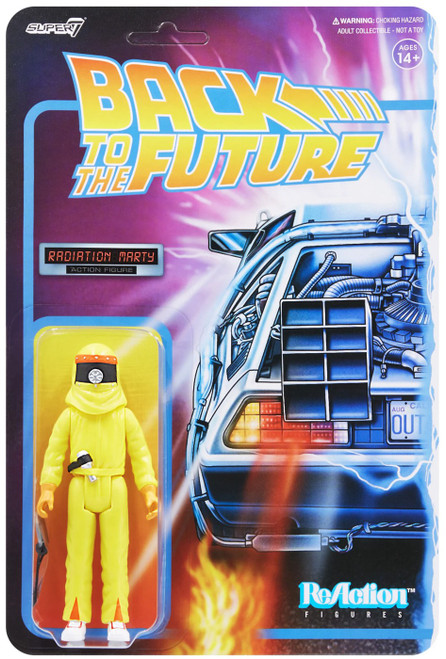 ReAction Back to the Future 2 Marty Action Figure [Radiation Suit] (Pre-Order ships November)