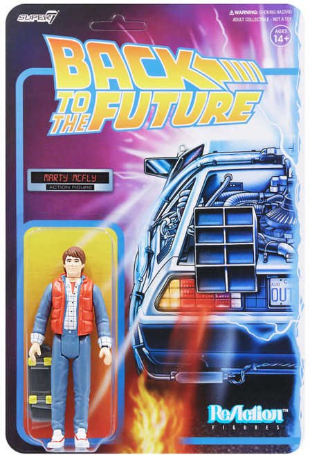 ReAction Back to the Future 2 Marty McFly 1980's Action Figure