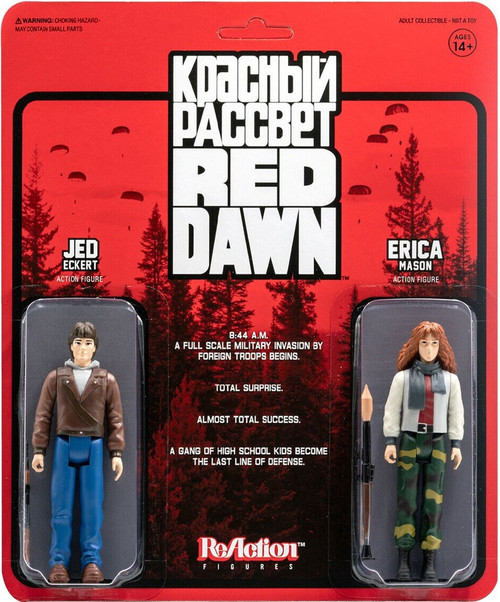 ReAction Red Dawn Erica & Jed Action Figure 2-Pack