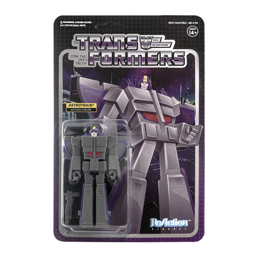 ReAction Transformers Astrotrain Action Figure