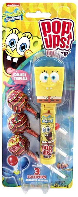 Spongebob Squarepants Pop Ups! Lollipop Spongebob