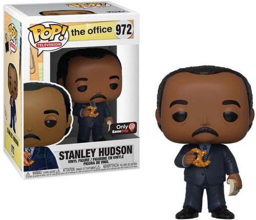 Funko The Office POP! TV Stanley Hudson Exclusive Vinyl Figure #972 [with Pretzel]
