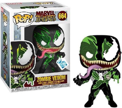Funko Marvel Zombies POP! Marvel Zombie Venom Exclusive Vinyl Figure #664