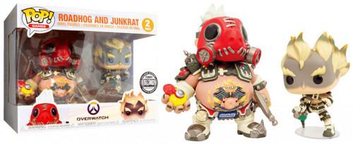 Funko Blizzard Overwatch POP! Games Roadhog & Junkrat Exclusive Vinyl Figure [Damaged Package]