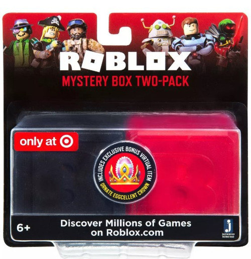 Roblox Series 7 & Celebrity Series 5 Exclusive Mystery 2-Pack Set