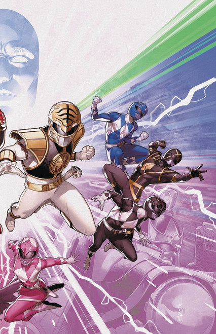 Boom Studios Mighty Morphin Power Rangers #50 Necessary Evil Comic Book [Connecting Variant Cover]