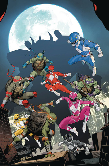 Boom Studios Power Rangers & Teenage Mutant Ninja Turtles #5 Comic Book