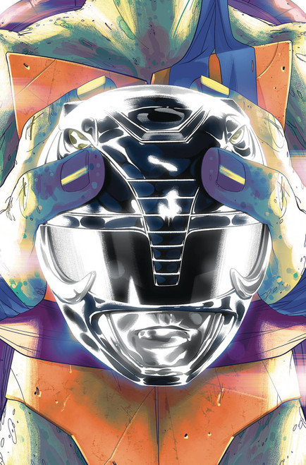 Boom Studios Power Rangers & Teenage Mutant Ninja Turtles #5 Comic Book [Goni Montes Cover B Leo]
