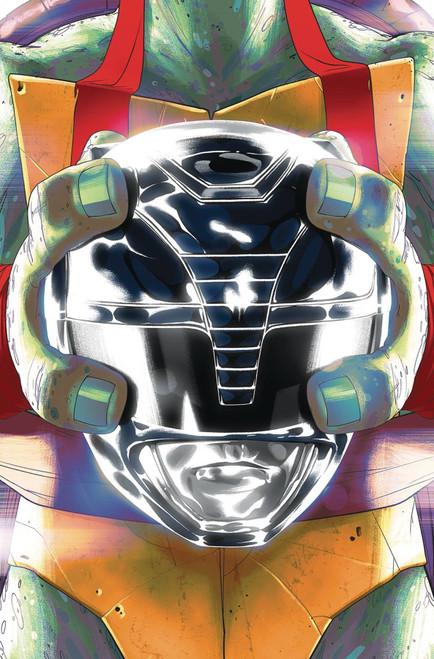 Boom Studios Power Rangers & Teenage Mutant Ninja Turtles #5 Comic Book [Goni Montes Cover C Raph]