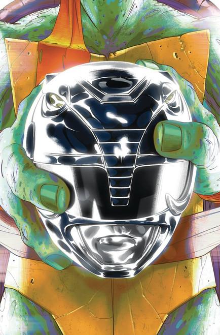 Boom Studios Power Rangers & Teenage Mutant Ninja Turtles #5 Comic Book [Goni Montes Cover D Mikey]