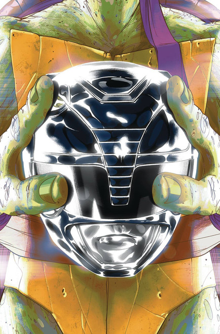 Boom Studios Power Rangers & Teenage Mutant Ninja Turtles #5 Comic Book [Goni Montes Cover E Donatello]