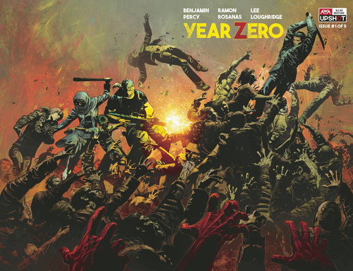 Artists Writers & Artisans Inc. Year Zero #1 Comic Book [Mike Deodato Variant Cover B]