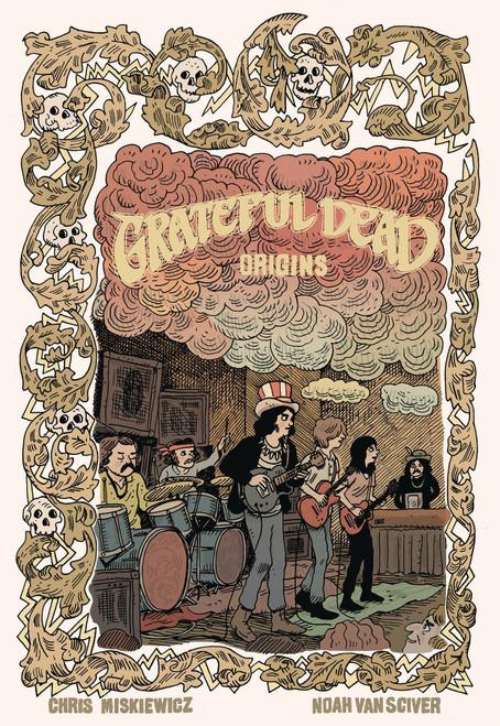Z2 Comics Grateful Dead Origins Graphic Novel Comic Book #1