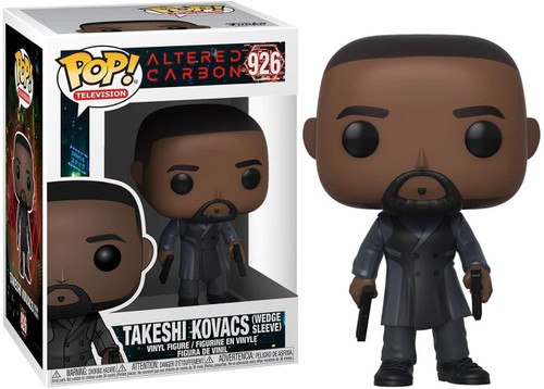 Funko Altered Carbon POP! TV Takeshi Kovacs Vinyl Figure #926 [Wedge Sleeve]