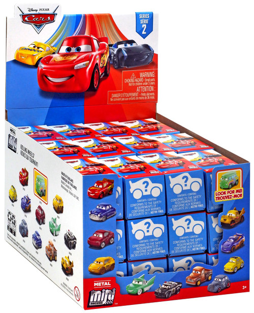 Disney Cars 3 Metal Mini Racers Series 2 Mystery Box [36 Packs]