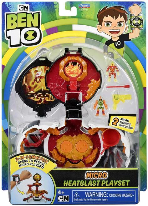 Ben 10 Micro Heatblast Playset