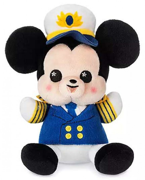 Wishables Disney Cruise Line Captain Mickey Exclusive 5-Inch Micro Plush