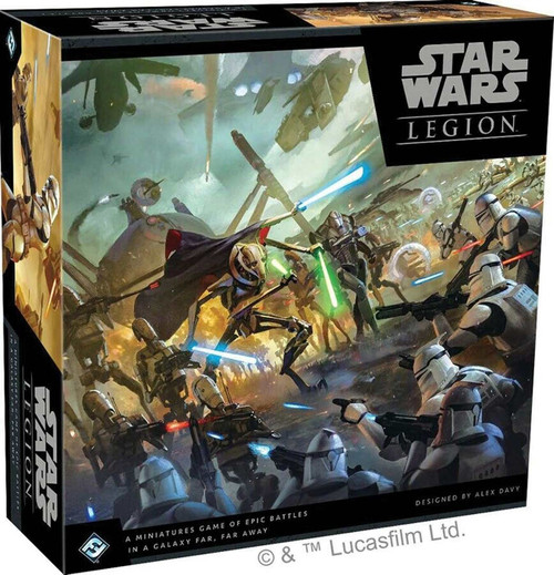 The Clone Wars Star Wars Legion Legion Core Set