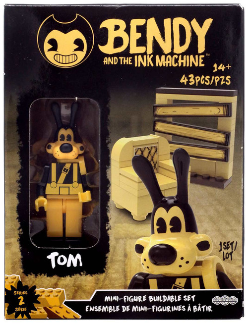 Bendy and the Ink Machine Series 2 Mini Figure Tom Buildable Set