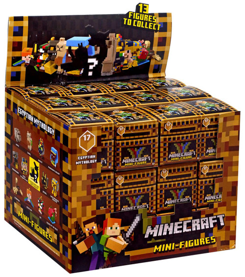 Minecraft Egyptian Mythology Series 17 Mystery Box [36 Packs]