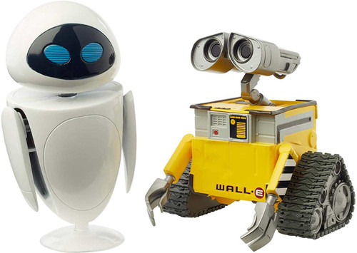 Disney / Pixar Core Wall-E & Eve Exclusive Action Figure 2-Pack