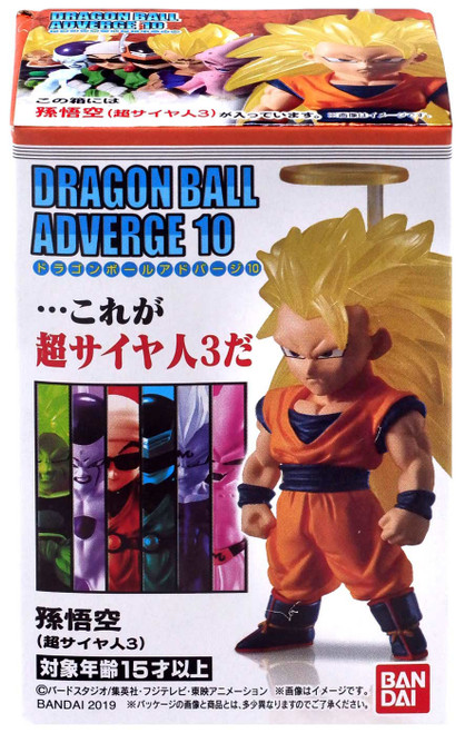 Dragon Ball Z Adverge Volume 10 SS3 Goku Mini Figure