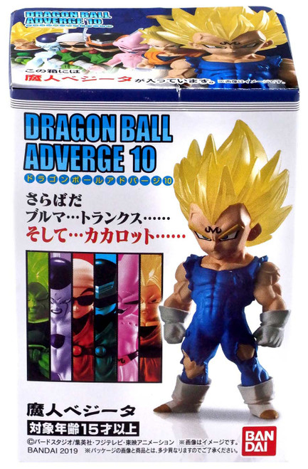 Dragon Ball Z Adverge Volume 10 Majin Vegeta Mini Figure