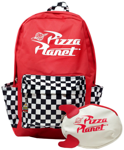 Toy Story Pizza Planet Backpack [No Pencil Case]