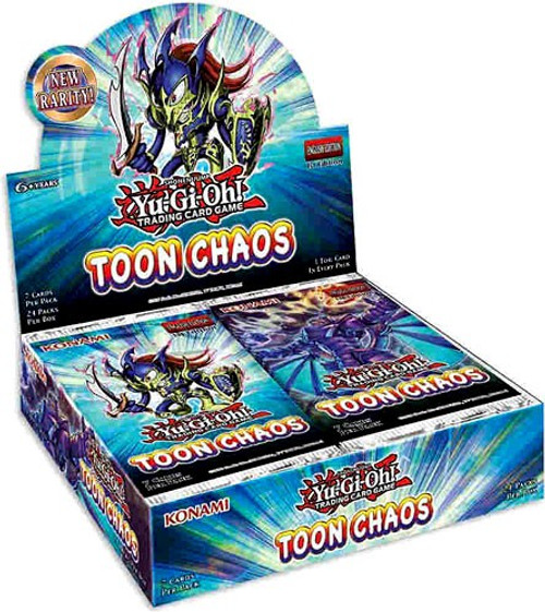 YuGiOh Trading Card Game Toon Chaos (1st Edition) Booster Box [24 Packs]