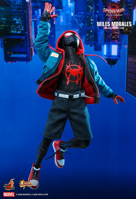 Marvel Spider-Man Into the Spider-Verse Movie Masterpiece Miles Morales Collectible Figure (Pre-Order ships January)