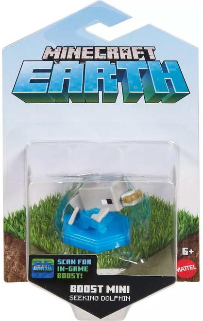 Minecraft Earth Boost Minis Seeking Dolphin Mini Figure