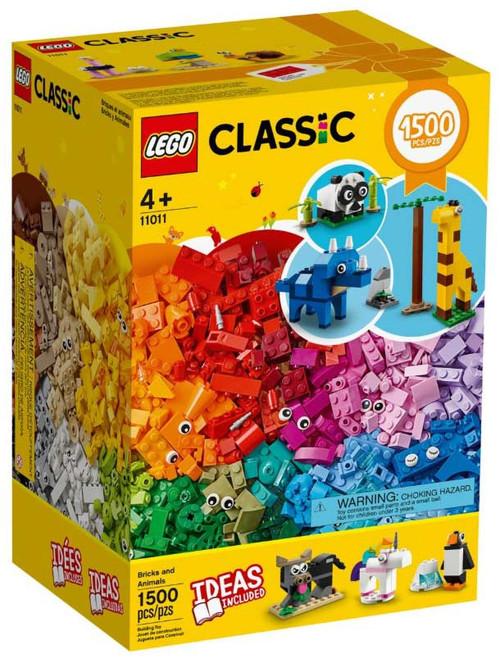 LEGO Classic Bricks & Animals Set #11011