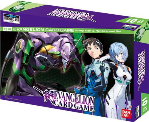 Evangelion Card Game Shinji Ikari & Rei Ayanami Set EV-01