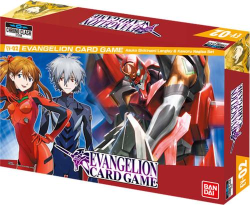 Evangelion Card Game Asuka Shikinami Langley & Kaworu Nagisa Set EV-02