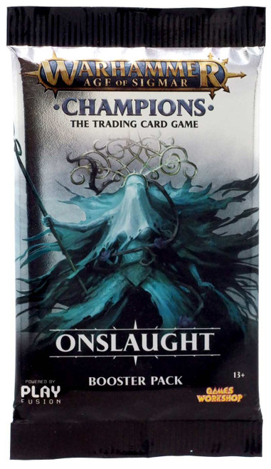Warhammer Age of Sigmar Champions Onslaught Trading Card Game Booster Pack